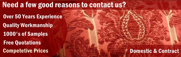 Call us on 01708 545075 or email us at enquiries@londonupholstery.co.uk